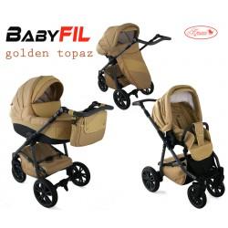 Wózek dziecięcy Krasnal BabyFIL ( złoty )