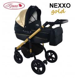 Wózek dziecięcy Krasnal NEXXO mineral  (złoty)