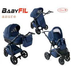 Wózek dziecięcy Krasnal BabyFIL ( niebieski )