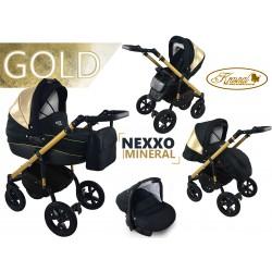 Wózek dziecięcy Krasnal NEXXO mineral  (złoty) GOLD