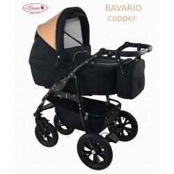 Wózek dziecięcy Krasnal BAVARIO metalic czarny