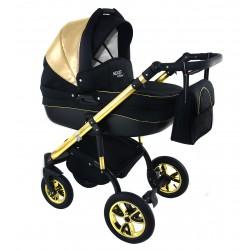 Wózek dziecięcy Krasnal NEXXO mineral DELUX  (złoty) GOLD