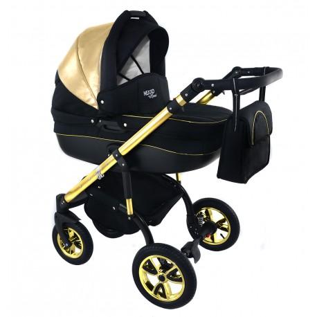 Wózek dziecięcy Krasnal NEXXO mineral złoty GOLD
