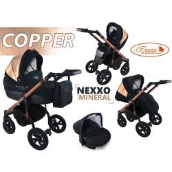 Wózek dziecięcy Krasnal NEXXO mineral (miedziany) COPPER