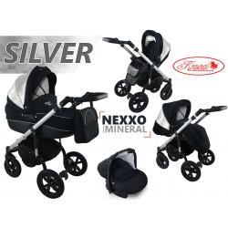 Wózek dziecięcy Krasnal NEXXO mineral (srebrny) SILVER