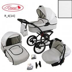 Wózek dziecięcy Krasnal POLARIS retro ( biały )