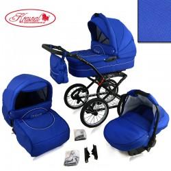 Wózek dziecięcy Krasnal POLARIS retro ( chabrowy )