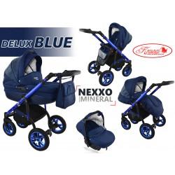 Wózek dziecięcy Krasnal NEXXO mineral DELUX  ( niebieski ] BLUE