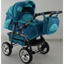 Wózek dziecięcy Krasnal HUGO ( morski )