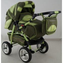 Wózek dziecięcy Krasnal HUGO ( oliwka )