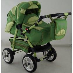 Wózek dziecięcy Krasnal HUGO ( zielony )