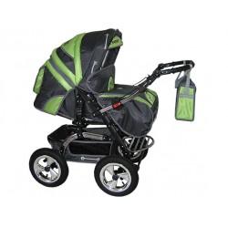 Wózek dziecięcy Diamant 05 (grafit + pistacja)