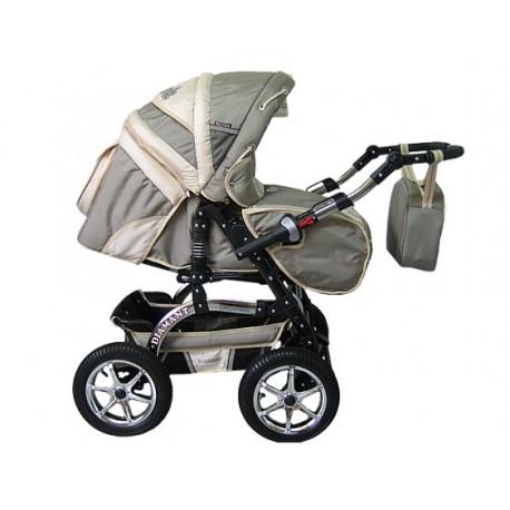 Wózek dziecięcy Diamant 11 (cappuccino + beż)