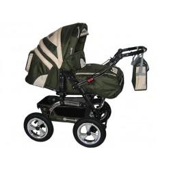Wózek dziecięcy Diamant 12 (oliwka + beż)