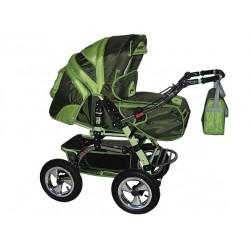 Wózek dziecięcy Diamant 14 (oliwka + pistacja)