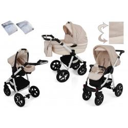 Wózek dziecięcy Krasnal NEXXO ( beżowy )