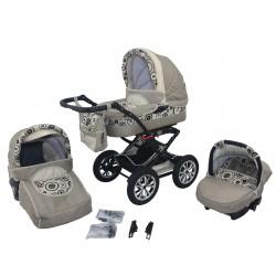 Wózek dziecięcy Polaris (beżowy)