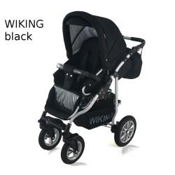 Wózek spacerowy Krasnal Wiking czarny