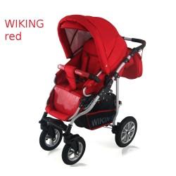 Wózek spacerowy Krasnal Wiking czerwony