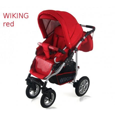 Wózek dziecięcy Wiking (czerwony)