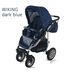 Wózek dziecięcy Wiking (granatowy)