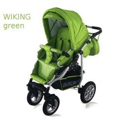 Wózek spacerowy Krasnal Wiking zielony