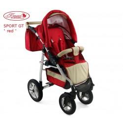 Wózek spacerowy Krasnal SPORT GT czerwony