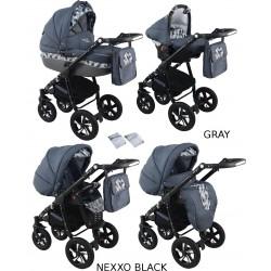 Wózek dziecięcy Krasnal NEXXO black [grafitowy]