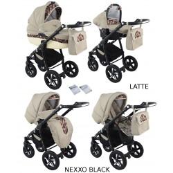 Wózek dziecięcy Krasnal NEXXO black [latte]