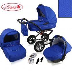Wózek dziecięcy Krasnal POLARIS lux (chaber+chaber)