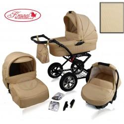 Wózek dziecięcy Polaris 2014 (złoty+złoty)