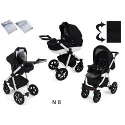 Wózek dziecięcy Krasnal NEXXO ( czarny )