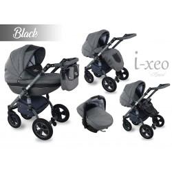 Wózek dziecięcy Krasnal i-xeo (czarny)