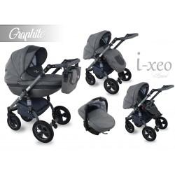 Wózek dziecięcy Krasnal i-xeo (grafitowy)