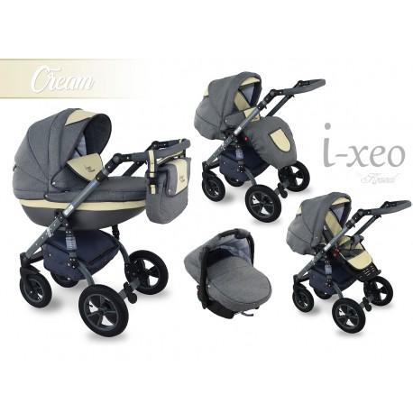 Wózek dziecięcy Krasnal i-xeo (beżowy)